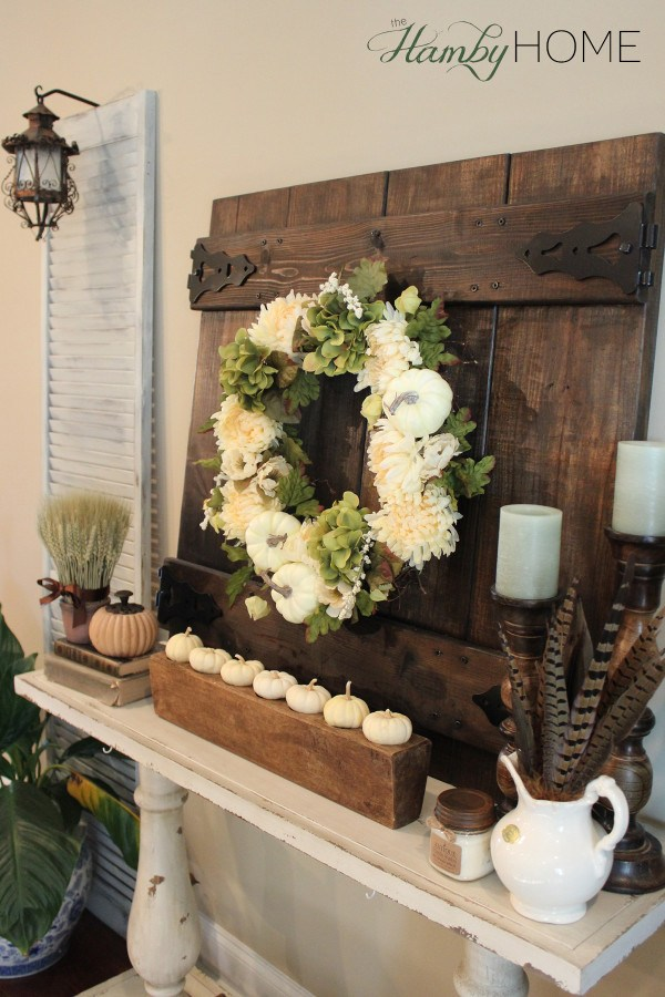 fall mantel inspiration home decor ideas for autumn via the hamby home