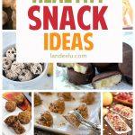 Healthy Recipes: Snack Ideas