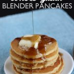 Whole Grain Blender Pancakes Recipe