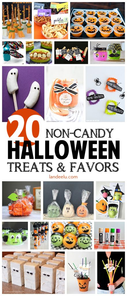 Non-Candy Halloween Treats and Party Favors - landeelu.com