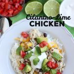 Cilantro Lime Chicken Recipe: Crockpot or Freezer Meal