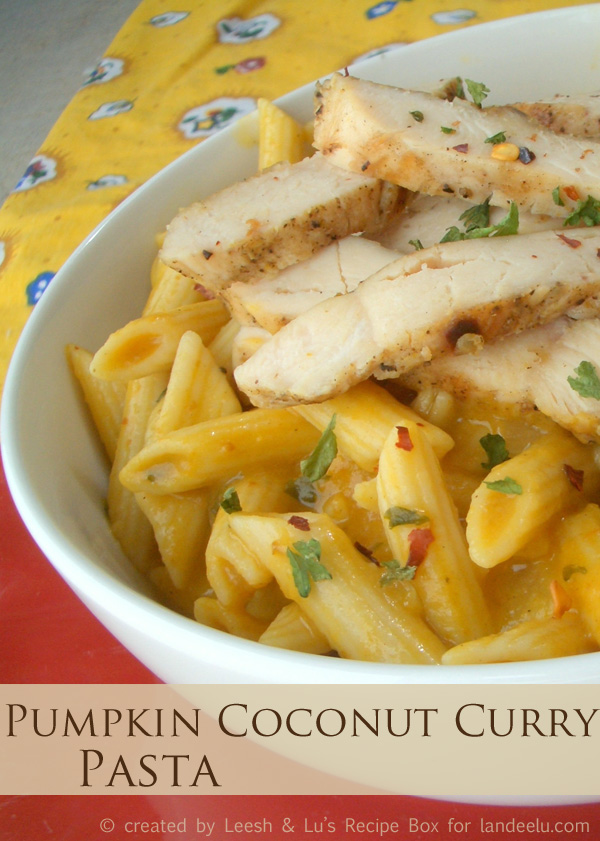 http://www.landeeseelandeedo.com/wp-content/uploads/2016/10/Creamy-Pumpkin-Coconut-Chicken-Curry-Pasta-Recipe-via-Landeelu.jpg