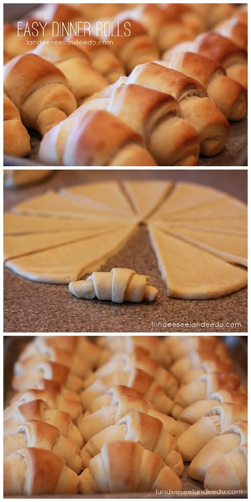Easy and Delicious No Fail Dinner Rolls Recipe & Tutorial | Landeelu