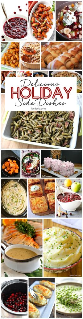 Tis the season to make special holiday side dishes for those you love! I can't wait to try some of these side dish favorites.