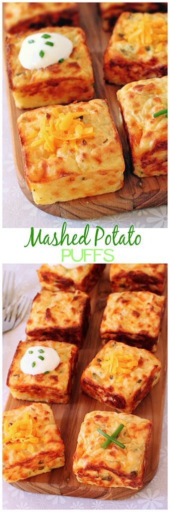 Mashed Potato Puffs Side Dish Recipe | Cinnamon-Spice & Everything Nice