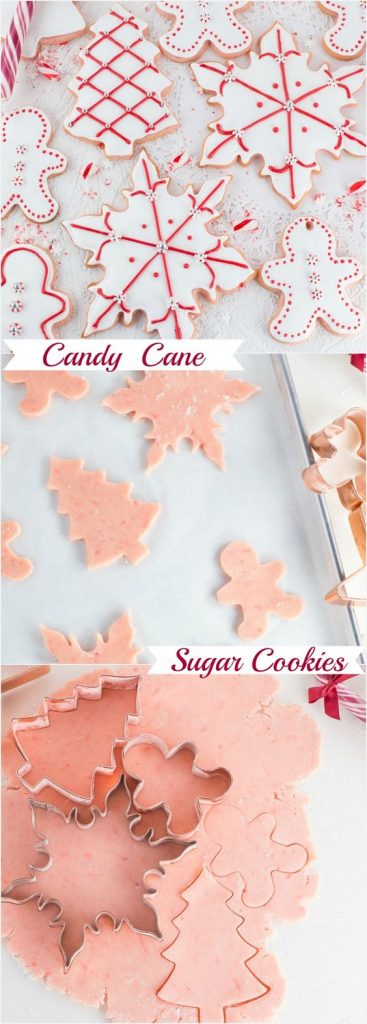 Candy Cane Sugar Cookies Recipe   Art and the Kitchen
