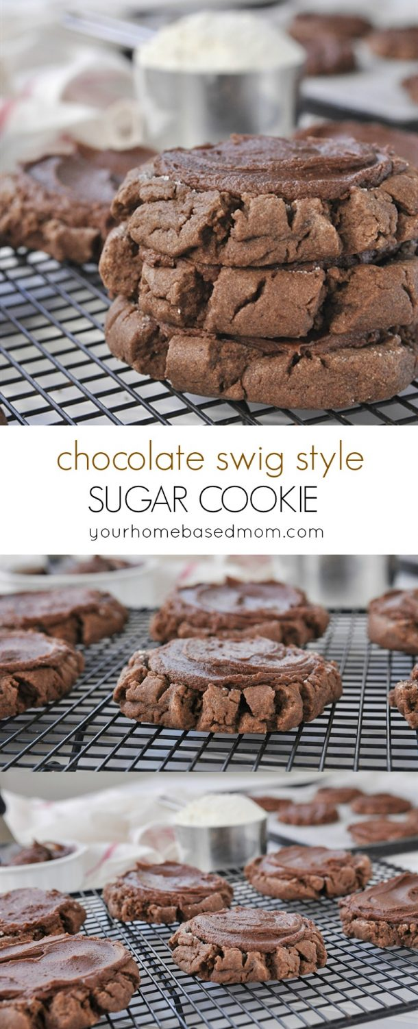 Chocolate Swig Style Sugar Cookies Recipe   Your Homebased Mom