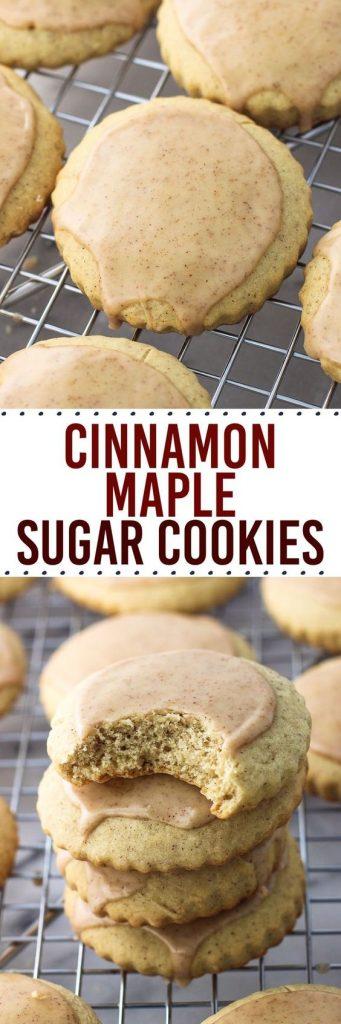 Cinnamon Maple Sugar Cookies Recipe   My Sequined Life
