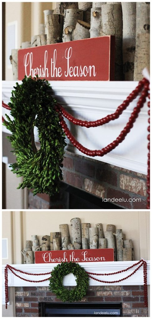 Cozy and Simple Christmas and Winter Mantel Inspiration and Ideas   Landeelu