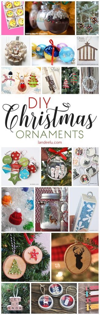 Diy christmas tree ornaments to make for Easy diy christmas tree decorations