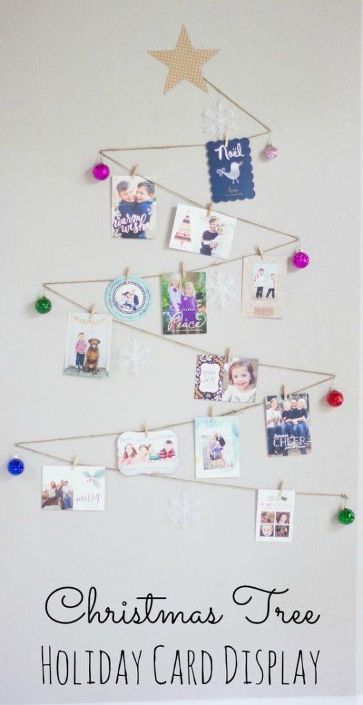DIY Christmas Card Holder And Display Ideas Landeelu Awesome Christmas Card Display Stand