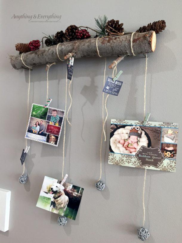 Diy Christmas Card Holder And Display Ideas Landeelu Com