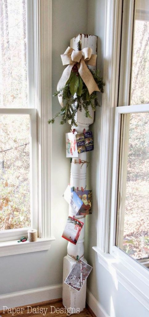 Diy Christmas Card Holder And Display Ideas Landeelu Com