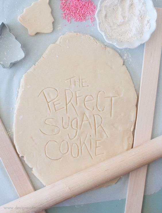 How to Make The Perfect (Soft) Cut Out Sugar Cookies - Recipe and Tutorial | Design Eat Repeat