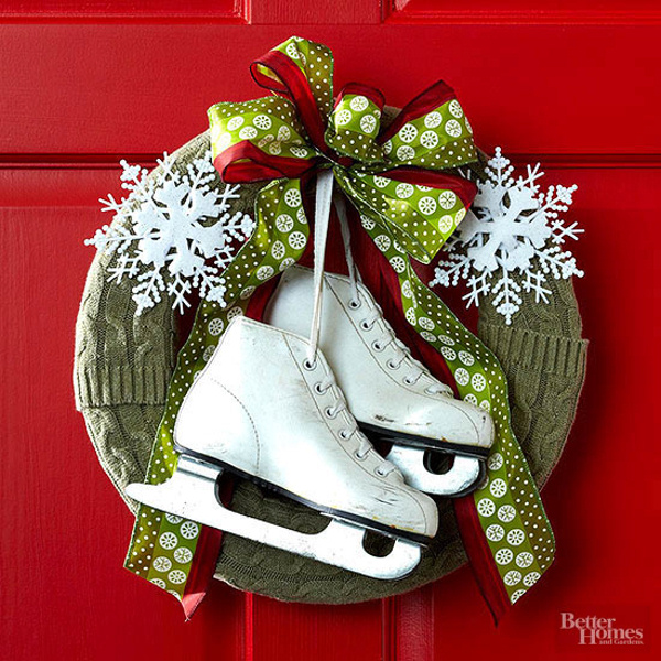 Christmas crafts diy christmas wreaths - Deco de noel exterieur a fabriquer ...