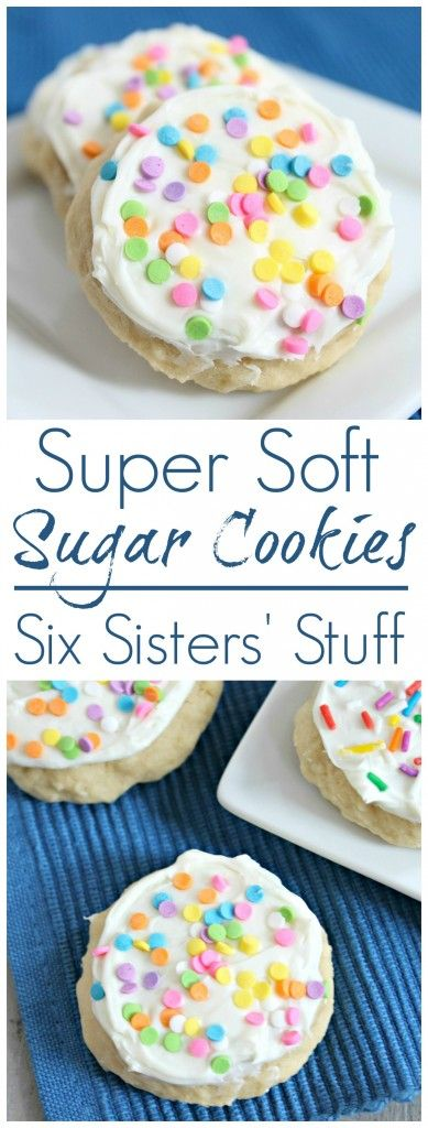 Super Soft Sugar Cookies Recipe   Six Sisters' Stuff