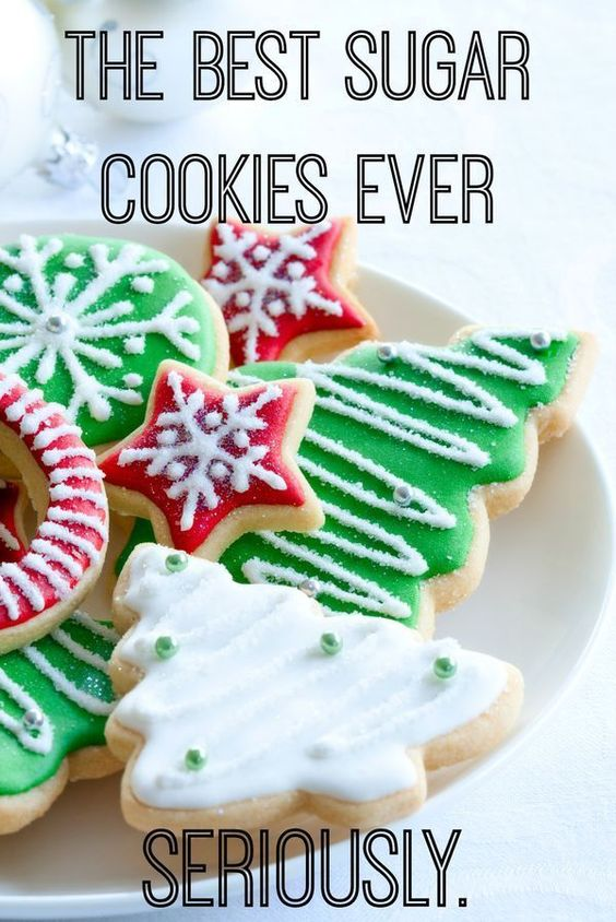 The BEST Holiday Sugar Cookies Ever :: Seriously (According to her Mother in Law)   It's Fitting