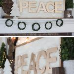 Christmas Craft: DIY Faux Fur Peace Sign