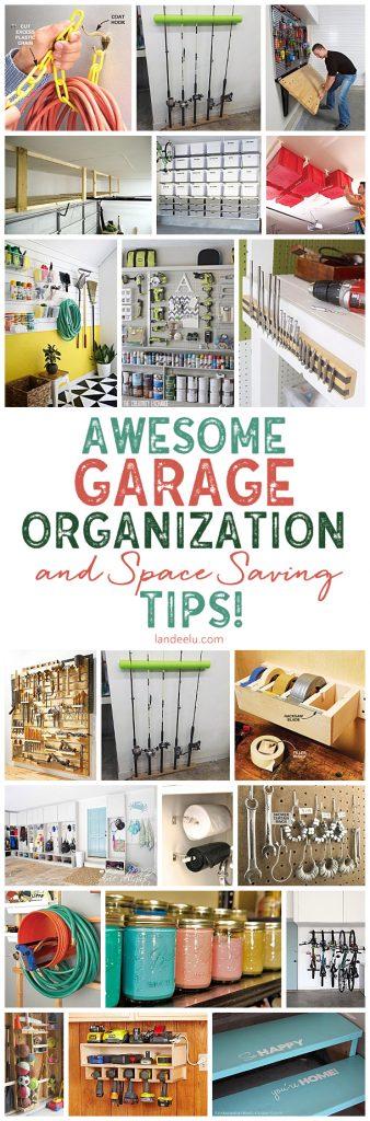 Awesome Diy Garage Organization Ideas Landeelu Com