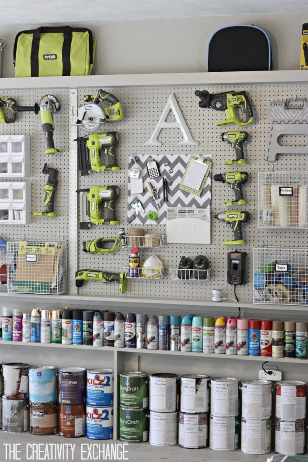 http://www.landeeseelandeedo.com/wp-content/uploads/2016/12/DIY-Pegboard-Wall-Tutorial-via-The-Creatiity-Exchange-Awesome-DIY-Garage-Organization-and-Space-Saving-Ideas.jpeg
