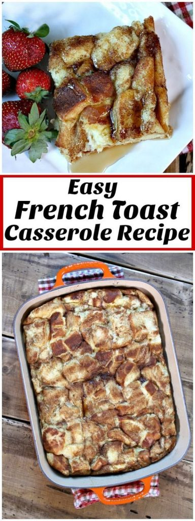 Easy French Toast Breakfast Casserole Recipe | Recipe Girl