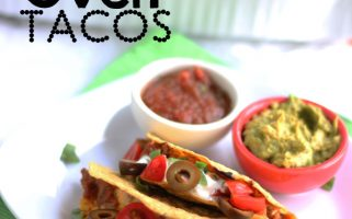 Get dinner on the table quickly with these tacos that you bake in the oven! Genius!