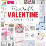 Free Printable Valentine's Day Cards and Gift Tags