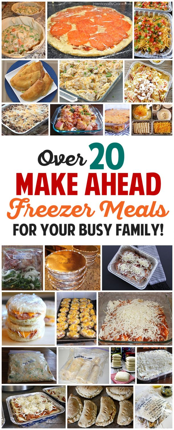make ahead freezer meals recipes for your busy family landeelu com