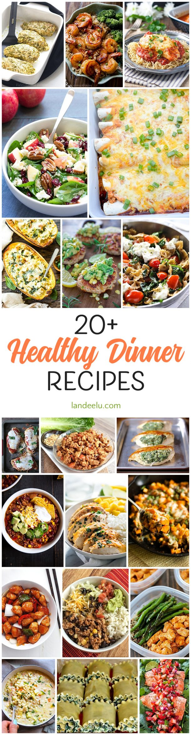 Over 20 Healthy Dinner Recipes To Try ASAP Some Family Favorites Lightened Up And