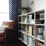 IKEA Hack: IVAR Home Office Shelves