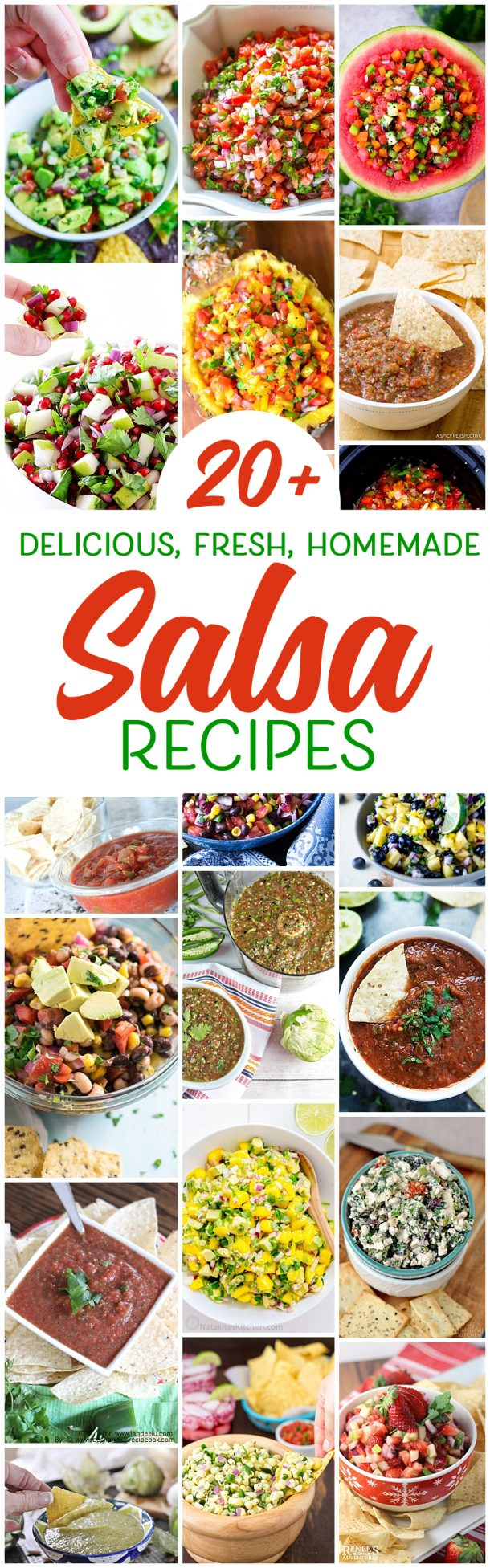Get out the chips because I want to make each salsa recipe on this list! Chips and salsa are my favorite snack of all time!