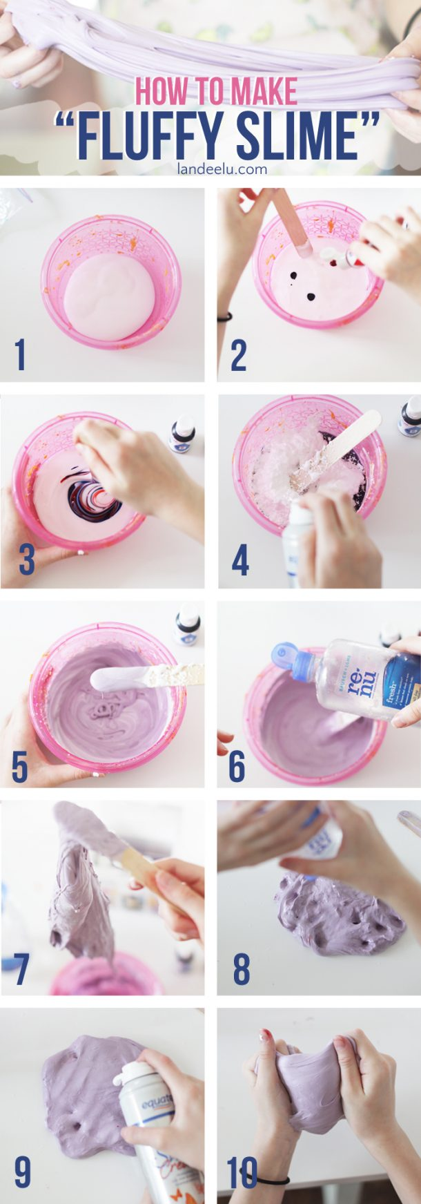 so slime diy instructions