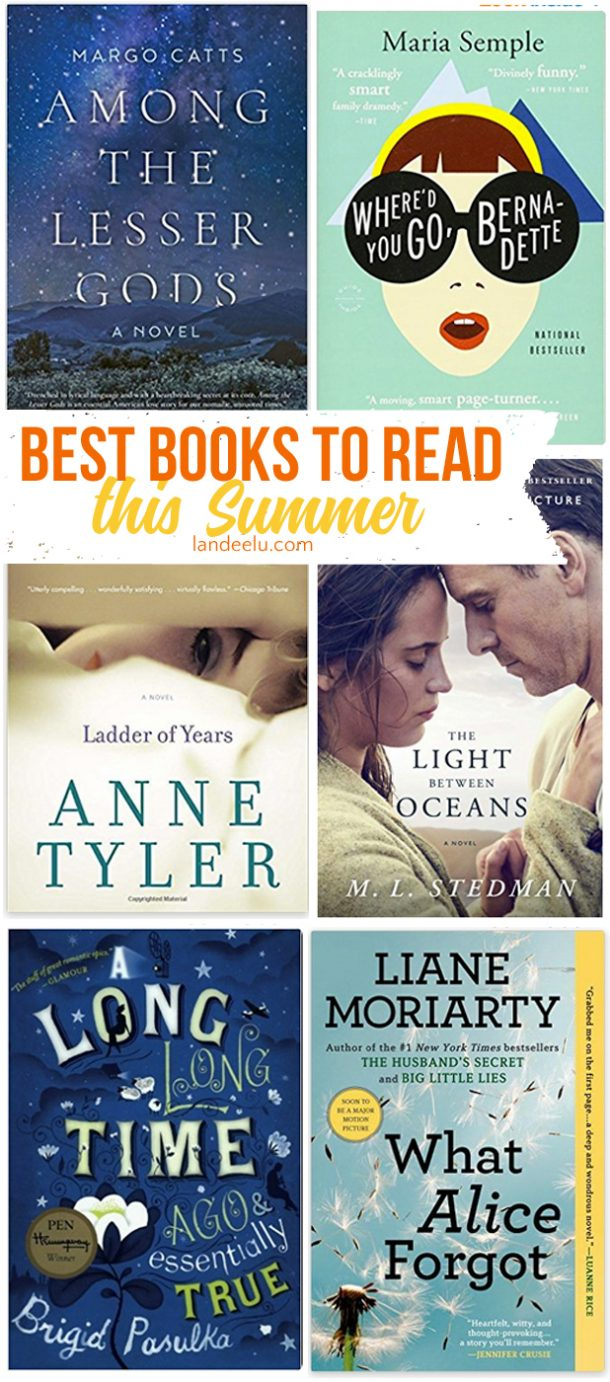 Best books to read summer