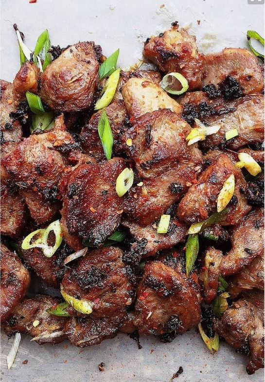 """Vietnamese Grilled Lemongrass Pork Recipe 