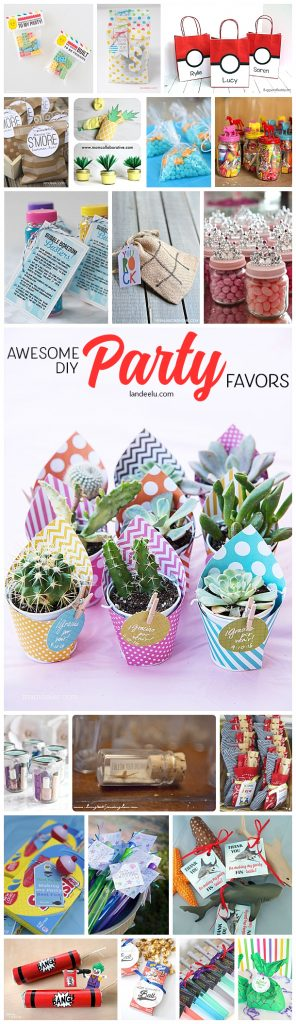 Make these fun and festive DIY party favors for your next get together!  So cute and easy!