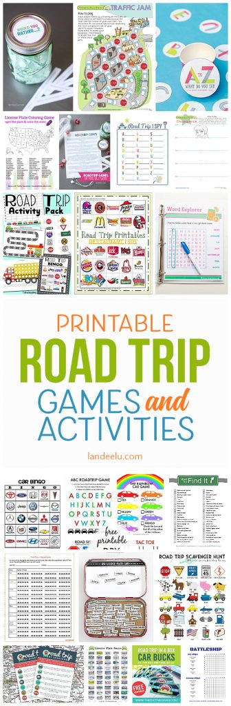 a ton of awesome printable car games for kids so easy to print and entertain diy road trip