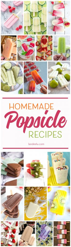 Beat the heat by trying some of these delicious homemade popsicle recipes!