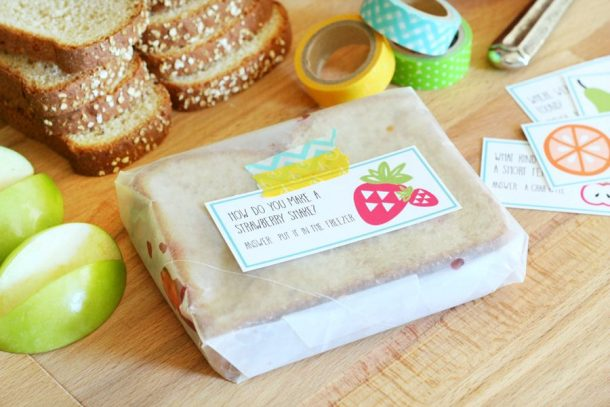 Free Printable Lunchbox Notes | The Crafted Sparrow