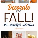 DIY Fall Decorations for Your Home!
