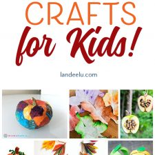 Fun Fall Crafts for Kids!