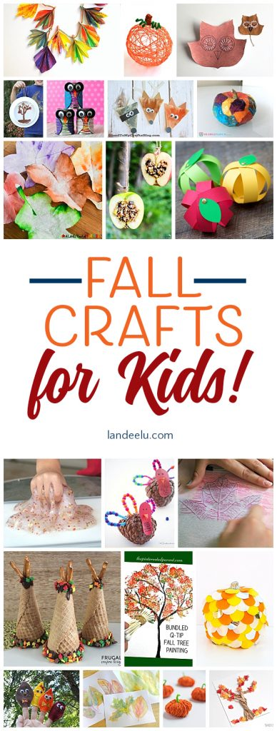 Keep those kids entertained on Thanksgiving with these fun fall crafts for kids!