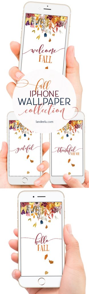 """Beautiful Fall iPhone wallpaper to help """"fall-ify"""" your phone!"""