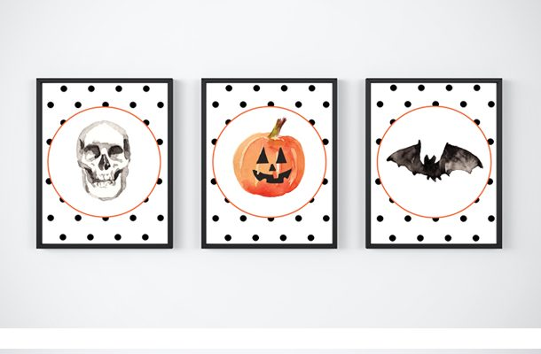 Mix and Match Free Halloween Printables