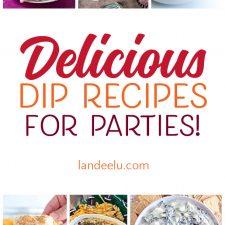 Party Food Ideas: Delicious Dip Recipes