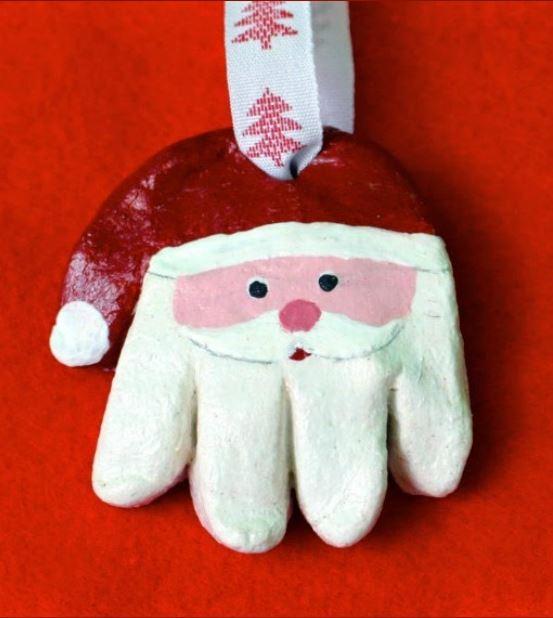 Adorable Santa Christmas Crafts For Kids Landeelu Com