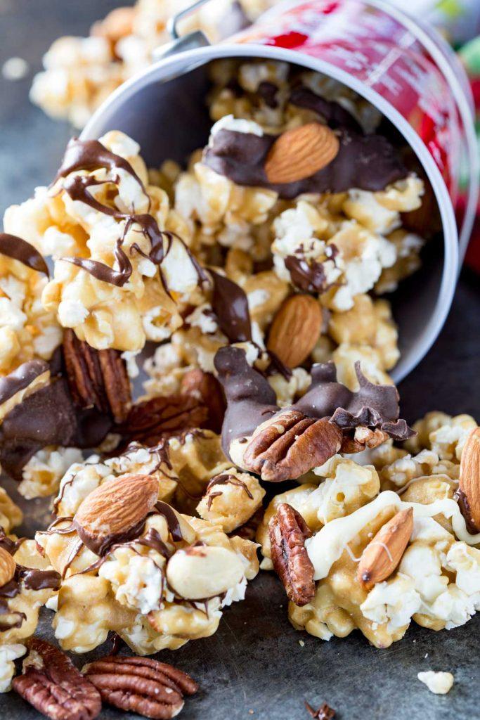 Caramel Moose Munch Fancy Popcorn Recipe | Eazy Peazy Mealz