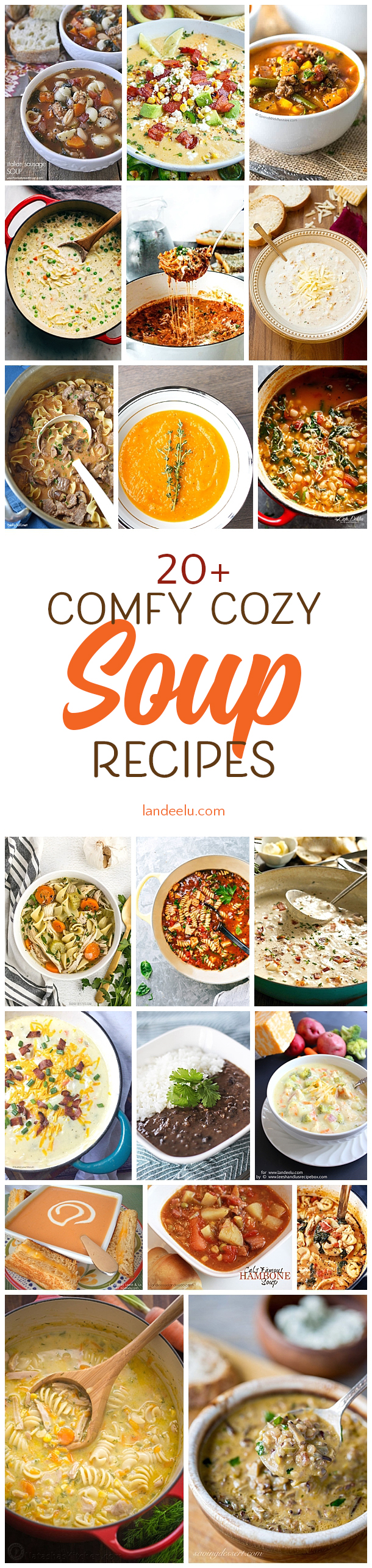 Some of the most delicious and best soup recipes out there