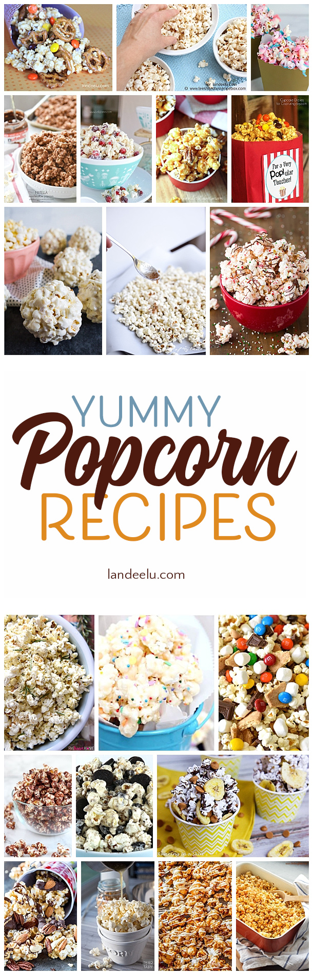 Try one of these yummy popcorn recipes for family night... everyone will love it!