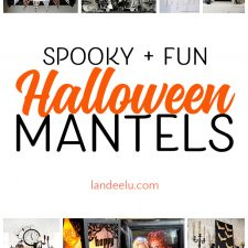 Halloween Decoration Ideas for Your Mantel!