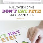 Don't Eat Pete!: Halloween Game for Kids